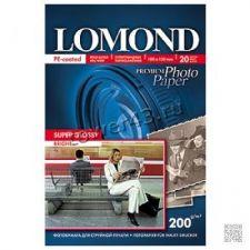 Бумага Фотобумага Lomond Super Glossy Paper (200гр, А4, 20листов, cуперглянцевая) Купить