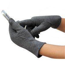 Перчатки для сенсорных экранов LZP509, женские серые Купить