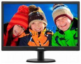 "Монитор 18.5"" Philips LED 193V5LSB2/62 Black, 5ms,1366x768, 250кд/м2, 1000000:1 Купить"