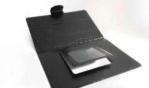 """Чехол для планшета 8"""" КНИЖКА универсальный черный на липучках Купить"""