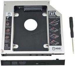 """Переходник для замены привода в ноутбуке на 2,5""""HDD/SSD, SATA, 9,5/12.7мм Купить"""