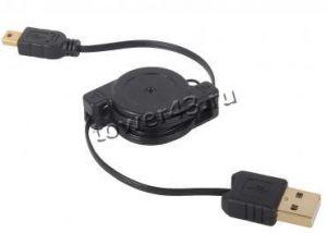 Кабель мини USB 1м (для зарядки) oem Купить