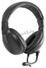 Наушники+микрофон Defender HN-116 BRAVO, кабель 1.8м, регулятор громкости Купить