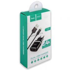 Сетевое зарядное устройство 220В -> microUSB HOCO /Dream /Borofone 2/2.4A USB (в ассортименте) Rtl Цена