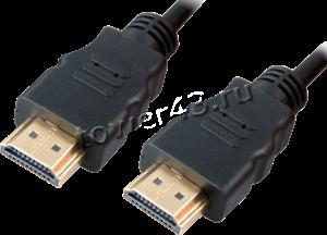 Кабель для монитора HDMI (19pin) -> HDMI (19pin), 2м. Купить