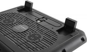 "Подставка под ноутбук охлаждающая CROWN CMLС-M10 (Black) до 17"",  вент14см, подсветка Цена"