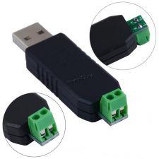 Переходник USB -> RS485 (зажимы) для передачи питания Купить
