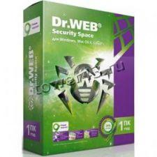 Антивирус Dr.Web Secury Space для Windows на 1ПК на 1год Купить