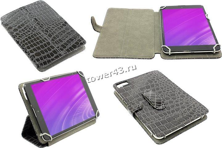 Чехол для планшета 7.85'' Norton универсальный с уголками (серый рептилия)