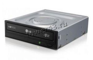 Привод DVD-RW Lg GH24NSD5 SATA black DVD-+RW 16x (DL, DVD-RAM) Купить