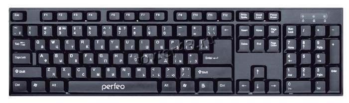 Клавиатура Perfeo беспроводная Cheap (черная) PF-3208-WL