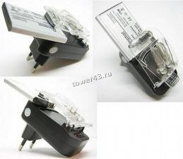 Сетевое зарядное устройство 220В для АКБ Лягушка +USB выход Цена