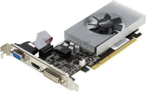 Видеокарта GeForce 730GT 2Gb <PCI-E> DVI HDMI DSUB DDR5 64Bit Palit oem Купить