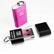 Картридер KW15D/Eltronic внешний для microSD USB2.0 Вятские Поляны