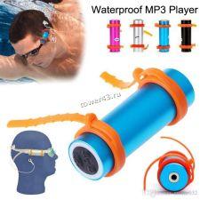 Флэш-плейер JD0552X 4Gb FMрадио /MP3, водозащита IPX8, крепеж, салфетка, наушники (цвет в ассортим) Купить