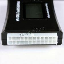 Тестер CS306 блоков питания компьютеров (проверка выходных напряжений всех разъемов), дисплей Вятские Поляны