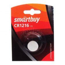 Литиевый дисковый элемент CR1216 Smartbuy Купить