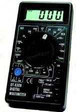 Мультиметр DT830B (тест диодов, транзисторов, измерение тока, напряжения, сопротивления) Купить