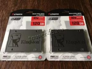 "Твердотельный накопитель 120Gb SSD 2.5"" Kingston A400 SA400S37/120G SATA3 TLC Цена"