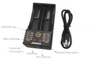 Зарядное устройство LiitoKala Lii-202 универсальное автомат (на 2АКБ) Цена