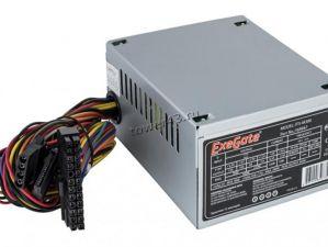 Блок питания EXEGATE 400W ATX-AА400/ААА400, 8cm fan, 24+4pin, 2*SATA, 1*FDD, 1*IDE Купить