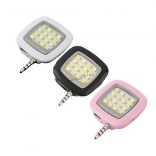 Светодиодная селфи подсветка для смартфона в разъем 3.5 aux с выключателем Цена