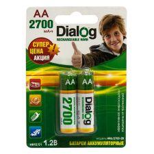 Аккумуляторы AA DIALOG, 2800mAh 2шт. Купить
