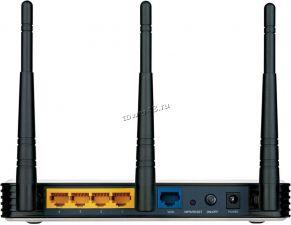 Маршрутизатор (роутер) беспроводной TP-Link TL-WR940N 802.11b/g/n, 4x100Mbit, 450Mbit/с, 3 антенны Цены