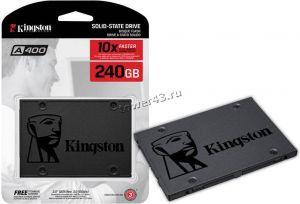 "Твердотельный накопитель 240Gb SSD 2.5"" Kingston A400 SA400S37/240G SATA3 TLC Цена"