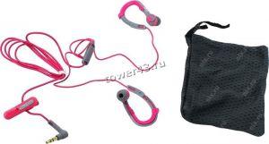 Наушники+микрофон Philips SHQ3300PK, 6-24000Hz, 107dB, 16Ohm, вкладыши для спорта,1,2м, серо-розовые Цена