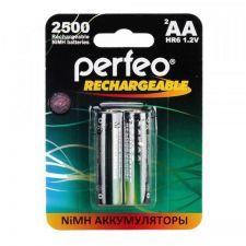 Аккумуляторы AA Perfeo, 2500mAh 2шт. Купить