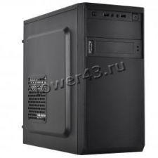 Корпус MidiTower CROWN CMC-4201 CM-PS500W, Black, 500W, USB2.0, Audio Купить
