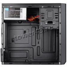 Корпус MidiTower CROWN CMC-4201 CM-PS500W, Black, 500W, USB2.0, Audio Цена