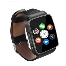 Смарт-часы-телефон X6 /A1 (Sim-карта, блютуз, водозащита, шагомер, слот microSD) Retail Купить