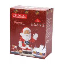 Мобильная колонка-плеер Дед Мороз WS-281BT Bluetooth /USB /Micro SD /FM красный Цена