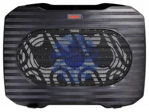 "Подставка под ноутбук охлаждающая Buro BU-LCP156-B114 с LED подсветкой 15,6"", 1*Fan 14cm Купить"