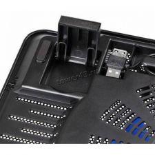 "Подставка под ноутбук охлаждающая Buro BU-LCP156-B114 с LED подсветкой 15,6"", 1*Fan 14cm Цены"