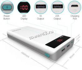 Внешний мобильный аккумулятор Romoss Polymos20 / Sense6P /TL20 20000mAh /HO20 (в ассортименте) Купить