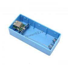 Контейнер с контроллером для внешнего мобильного аккумулятора для 2-х элементов 18650 (цвет в ассор) Купить