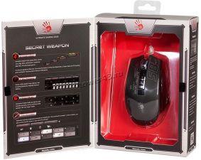Мышь A4Tech Bloody P85 (Sport) USB, 5000 dpi, игровая, оптические кнопки и колесико, подсветка Цены