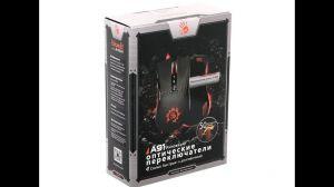Мышь A4Tech Bloody A91 BLAZING, USB (черная) 8 кн, оптические переключатели, 4000 dpi, игровая Цена