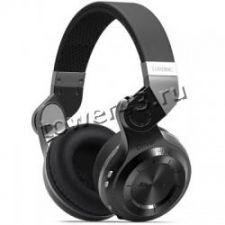 Наушники+микрофон полноразмерные Bluedio TURBINE T2/T2S беспров, вер.4.1, складные, 1600/40ч, D57мм Купить