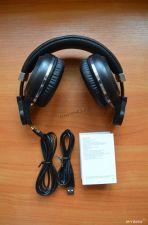 Наушники+микрофон полноразмерные Bluedio TURBINE T2/T2S беспров, вер.4.1, складные, 1600/40ч, D57мм Цена