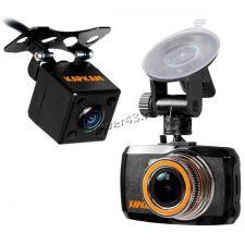 Автомобильный видеорегистратор КАРКАМ D2 (Full HD +парков камера 1280х720, 140гр, G-сенсор) Купить