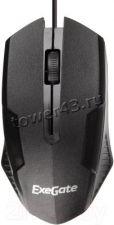 Мышь Exegate SH-9025 <black, шнур 1.35м,  3btn/scroll, 1000dpi, USB>, Color box Купить
