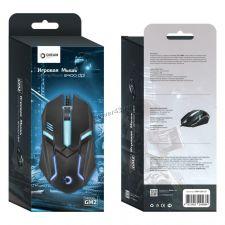 Мышь DREAM GM2 (1600 dpi, 7 цветная пдсветка) игровая черная Купить