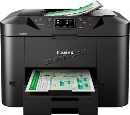 МФУ струйное Canon Maxify MB2740 A4, RJ45, WiFi принтер/копир/сканер, Duplex, USB, дисплей, AirPrint Купить