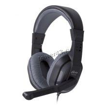 Наушники+микрофон Ritmix RH-534M, с регулятором громкости, шнур 2м, динамики 40мм Купить