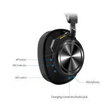 Наушники+микрофон полноразмерные Bluedio TurbineT6 active, беспров, вер.4.2, 1000/25ч, D57мм Цены