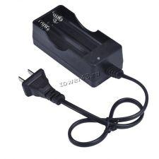 Зарядное устройство универсал для круглых LiIon аккумуляторов (на 2акб, 500mAh, 3.7-4.2B, индикатор) Купить